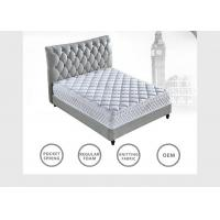 Wholesale King Queen Size Spring Hotel Bed Mattress Comfortable With Memory Foam High Standard from china suppliers