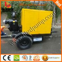 Wholesale Self priming waste water pump with water-proof container from china suppliers
