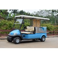 Wholesale 2 Passenger Electric Beverage Golf Cart With Utility Cargo / Electrical Food Buggy from china suppliers