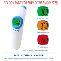 Buy cheap Infrared Ear No Touch Baby Thermometer , Digital Fever Thermometer Battery Power from wholesalers