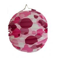 Wholesale Indoor Or Outdoor Hanging Accordion Ball Paper Lanterns With Dots from china suppliers