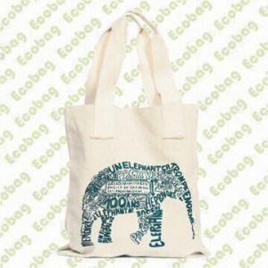 China Beautiful Cotton/Organic Cotton/Bamboo Handle Bag on sale