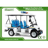 Wholesale White 5 Seater Battery powered Electric Patrol Car 5KW 72V from china suppliers