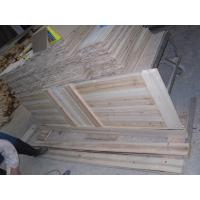 Glazed 15 panel knotty pine door available in 1 3 8 and for 15 panel solid wood door