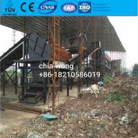 Wholesale MSW municipal waste sorting line equipment for household waste management from china suppliers