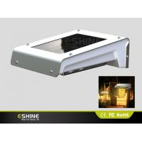 Wholesale IP65 Waterproof Aluminum Solar Motion Security Light Dim Wall Mount with Pure/Warn White Led from china suppliers