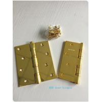 Wholesale GP Golden Plated Steel Ring Ball Bearing Door Hinges 2.7 Mm 2.5mm 3.0mm from china suppliers