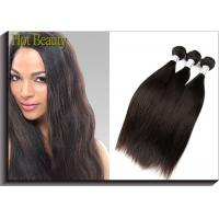 22 Inch Virgin Peruvian Human Hair Extensions , Weft Straight Hair