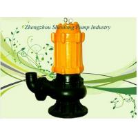 China Dirty water pump submersible pump with float 4KW  , cast iron black sewage pump on sale
