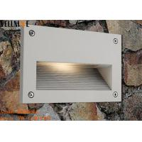 China Recessed Outdoor LED Step Lights , Rectangle Wall Lamp 3W 110 - 240V 50HZ on sale