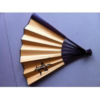 China Screen Printing Personalized Silk Fans , Silk Folding Fans For Wedding Favors on sale