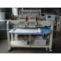 China 12 / 15 Colors Double Heads Embroidery Machine For Cap / T - shirt / Shoes / Flat Embroidery on sale