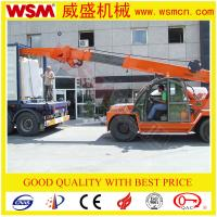 Buy cheap 10 tons diesel crane for unloading marble slab from wholesalers