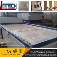Wholesale PVC MDF door vacuum membrane press machine from china suppliers