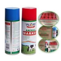 Buy cheap Long Lasting Animal Marking Spray Paint 2 Years Shelf Life For Pigs Cows Horse from wholesalers