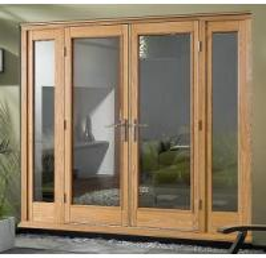 China Wood Aluminium French Door on sale