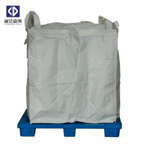 Custom 1 Ton Jumbo Bag , FIBCPolypropylene Jumbo Bags For Cement Fertilizer