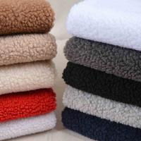 Wholesale Dyeing Thick 850gsm Polyester Fabric Keep Warm For Sewing Winter Coat from china suppliers