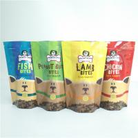Wholesale Dog Treat Storage Pet Food Bag  Laminated Plastic Reusable Vacuum Organic Pouch from china suppliers
