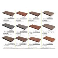 Wpc decking wood plastic composite material for outdoor for Composite decking comparison