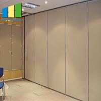 Wholesale Hanging Movable Wood Folding Soundproof Acoustic Room Divider For Banquet Hall from china suppliers