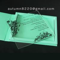 Wholesale ICE(7) simple love plastic scroll invitation rods from china suppliers