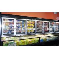 Wholesale Vegetable / Dairy Island Combination Freezer 2000 * 1060 * 2000mm Split Type from china suppliers