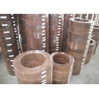 Wholesale Anchor Brake Lining Material Windlass Brake Lining For Traction Machine Winch from china suppliers