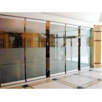 Wholesale Soudproof Aluminum Frameless Tempered Glass Partition Room Divider For Office from china suppliers