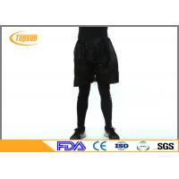 Wholesale Non Woven Men Disposable Shorts Pants With Elastic On The Waist Black Color from china suppliers