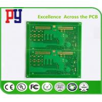 Wholesale Lead Free Single Sided PCB Board , Printed Circuit Board PCB Assambly Green Solder Mask from china suppliers