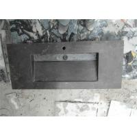 Wholesale European Style Rectangle Shaped Limestone Bathroom Sink Wall Hang Installation from china suppliers
