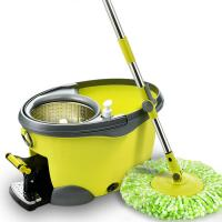 Wholesale microfibre spin mop with plastic bucket from cleaning factory supply from china suppliers