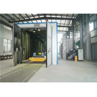China L6 * W4 * H4m Abrasive Blast Rooms , Clean Weld Joint Sand Blasting Cabinet System  on sale