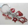 Personalized custom fabric Keychain,Create custom designer embroidery ...