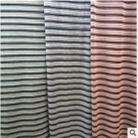 Wholesale UPSCALE MEN CLOTHING JACQUARD FABRIC YARN-DYED JACQUARD STRIPE POLO SHIRT FABRIC from china suppliers