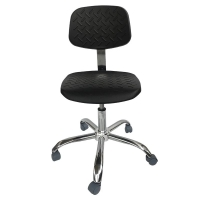 Buy cheap PU Foam Cleanroom Antistatic ESD Office Chair 440*440mm from wholesalers