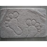 Wholesale Outside / Inside Carpet Door Mat Footprint , Custom Car Floor Mats Rug from china suppliers