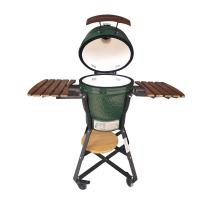Wholesale 18 Inch Kamado Grill Green Egg Easily Cleaned 3C Approved For Garden from china suppliers