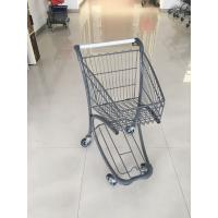 Wholesale 40 Liter Steel Tube Grocery Store Shopping Cart For Airport Supermarket from china suppliers