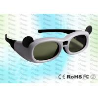 Wholesale Micro USB rechargeable Child style Japanese 3D TV IR Active Shutter 3D Glasses from china suppliers