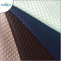 Wholesale Patent Quilted Faux Leather Fabric Multi Color Abrasion Resistant Durable from china suppliers