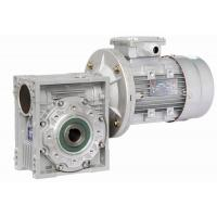 Wholesale Double Shaft Mounted Nmrv Worm Gear Reducer , Pre-Stage Reduction Gear Unit from china suppliers
