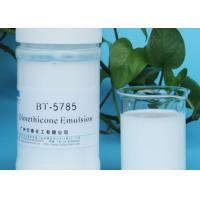 Wholesale Milky White Liquid Silicone Emulsion Oil Cosmetic Raw Material COA MSDS from china suppliers