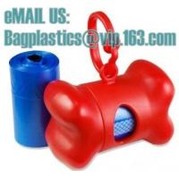 Wholesale clean bags, pet bag, litter bags, poop bags, pet supplies, clean up, tidy bag, dog waste from china suppliers