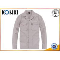Wholesale Winter Durable Custom Jackets Uniforms , Long Sleeve Scrub Jacket Top from china suppliers