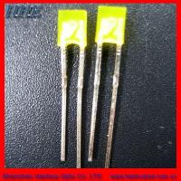 Wholesale Square 257 Yellow Light LED Diodes (HH-257OCCY940) from china suppliers