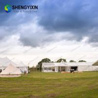 China Hot Sale Easy to carry big warehouse playing outdoor wedding Outdoor 15X 30m luxury event tent for car launch events for sale