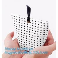 China China paper printing Newest logo printed recyclable sugar shopping carrier paper bag with design,Kraft Gift Paper Bag, L on sale