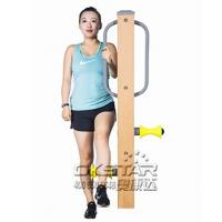 Wholesale outdoor fitness equipments WPC materials based leg massager from china suppliers